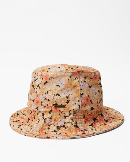 3 Still Single Bucket Hat Orange JAHW3BST Billabong