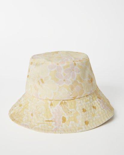 2 Still Single Bucket Hat Yellow JAHW3BST Billabong