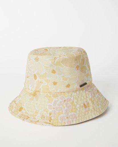 1 Still Single Bucket Hat Yellow JAHW3BST Billabong