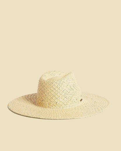 2 Salty Blonde Sun Rays Wide Brim Hat  JAHW3BSU Billabong