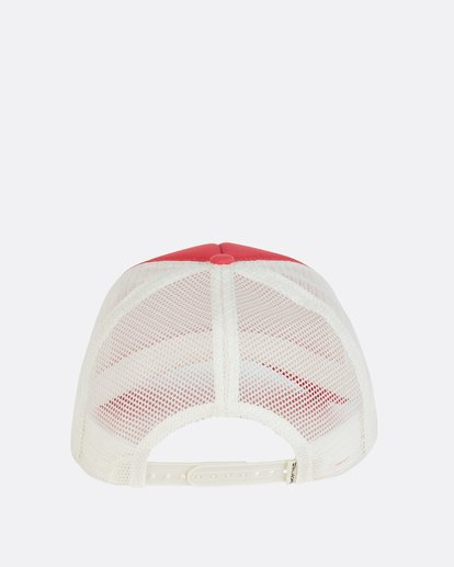 3 Across Waves Trucker Hat Pink JAHWNBAC Billabong