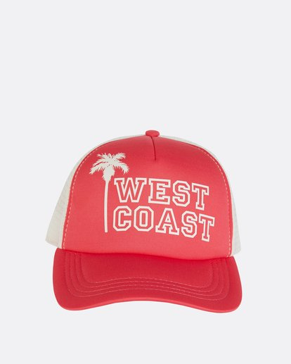 1 Across Waves Trucker Hat Pink JAHWNBAC Billabong