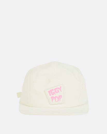 1 Women's Iggy Pop 5 Panel Hat Beige JAHWNBIG Billabong