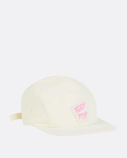 2 Women's Iggy Pop 5 Panel Hat Beige JAHWNBIG Billabong