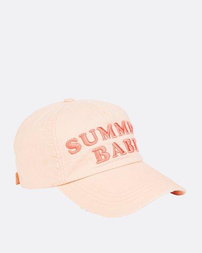 2 Surf Club Baseball Cap Orange JAHWNBSU Billabong