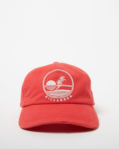 1 Surf Club Baseball Cap Red JAHWNBSU Billabong