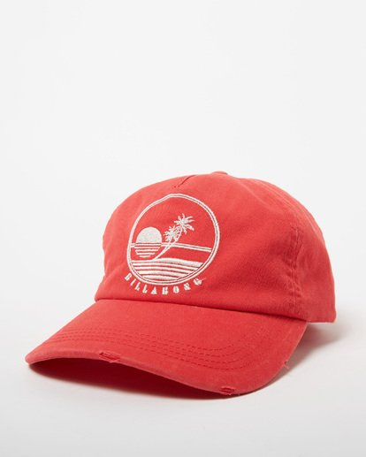 0 Surf Club Baseball Cap Red JAHWNBSU Billabong