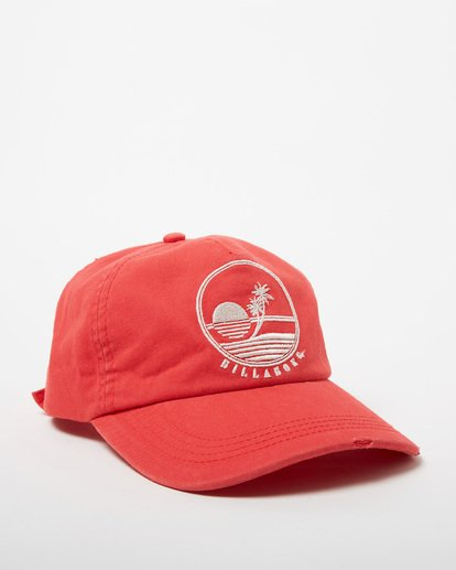 2 Surf Club Baseball Cap Red JAHWNBSU Billabong