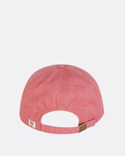 3 Surf Club Baseball Cap Pink JAHWNBSU Billabong