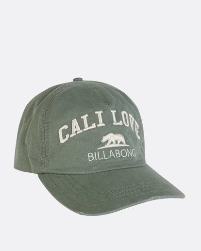 2 Surf Club Baseball Cap Green JAHWNBSU Billabong