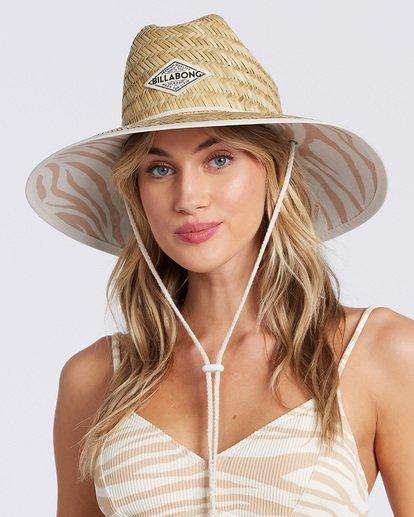 1 Tipton Straw Hat White JAHWNBTI Billabong