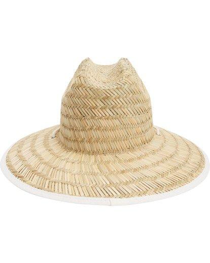 5 Tipton Straw Hat White JAHWNBTI Billabong