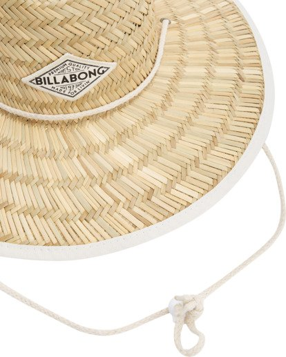 5 Tipton Straw Hat White JAHWNBTI Billabong