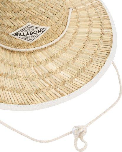 6 Tipton Straw Hat White JAHWNBTI Billabong