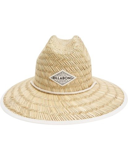 3 Tipton Straw Hat White JAHWNBTI Billabong