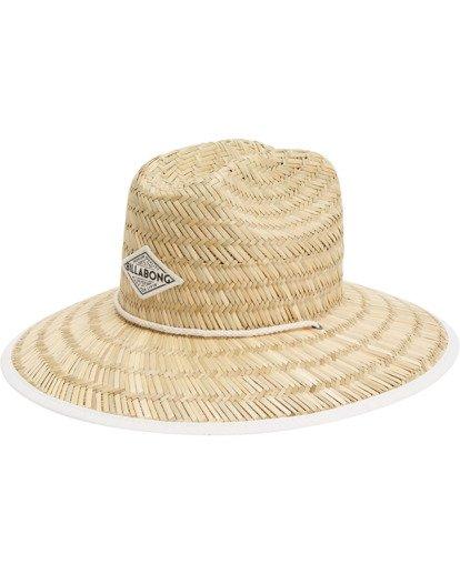 2 Tipton Straw Hat White JAHWNBTI Billabong