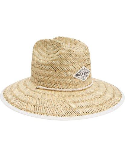 4 Tipton Straw Hat White JAHWNBTI Billabong