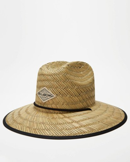 0 Tipton Straw Hat Black JAHWNBTI Billabong