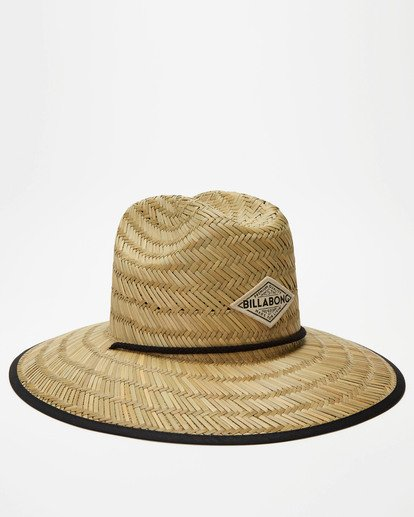 2 Tipton Straw Hat Black JAHWNBTI Billabong