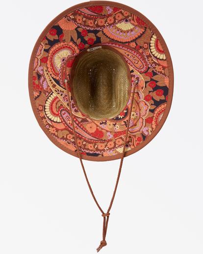 4 Tipton Straw Lifeguard Hat Brown JAHWNBTI Billabong