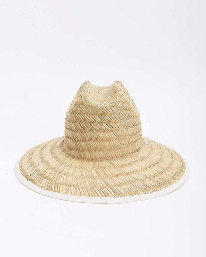 9 Tipton Straw Hat White JAHWNBTI Billabong