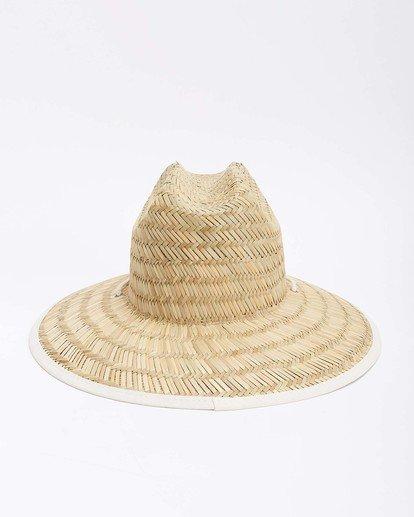 10 Tipton Straw Hat White JAHWNBTI Billabong