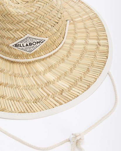 10 Tipton Straw Hat White JAHWNBTI Billabong
