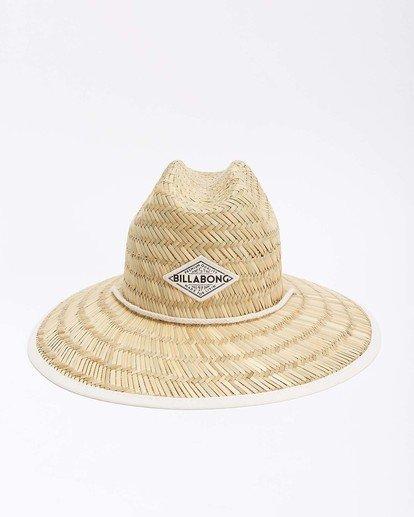 8 Tipton Straw Hat White JAHWNBTI Billabong