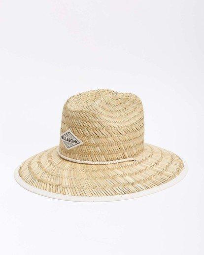 7 Tipton Straw Hat White JAHWNBTI Billabong