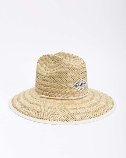 8 Tipton Straw Hat White JAHWNBTI Billabong