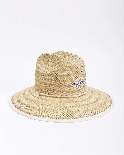 9 Tipton Straw Hat White JAHWNBTI Billabong