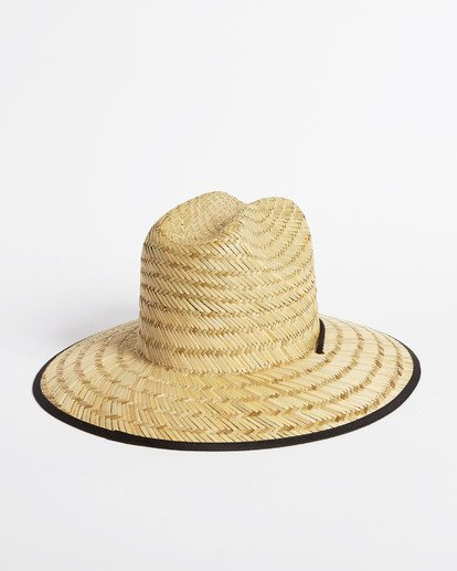 3 Tipton Straw Hat Black JAHWNBTI Billabong