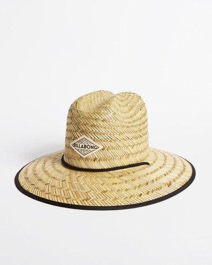 1 Tipton Straw Hat Black JAHWNBTI Billabong
