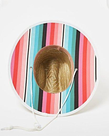 6 Tipton Straw Hat Pink JAHWNBTI Billabong