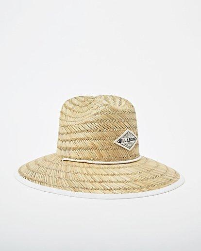 4 Tipton Straw Hat Pink JAHWNBTI Billabong