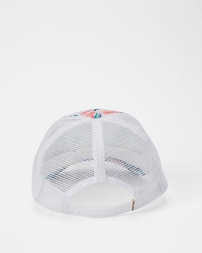 3 Hawaii Tropic Palm Trucker Hat Grey JAHWNBTR Billabong