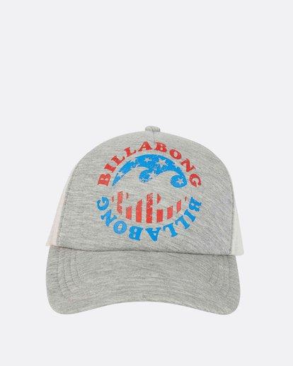 1 Across Waves Trucker Hat  JAHWPBAC Billabong