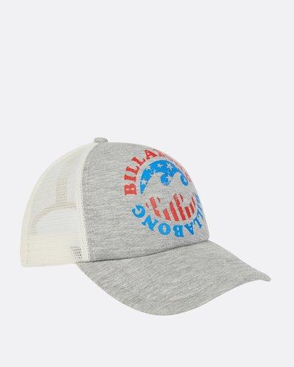 2 Across Waves Trucker Hat  JAHWPBAC Billabong