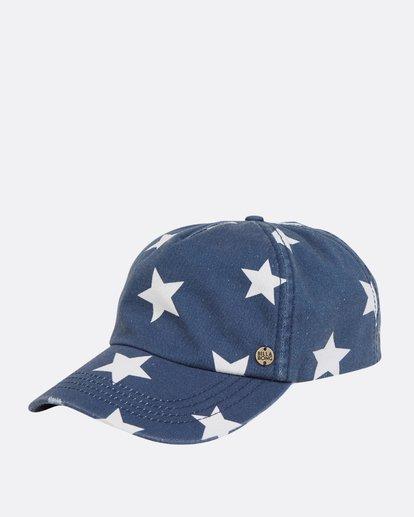 0 Beach Club Baseball Hat Blue JAHWPBBE Billabong