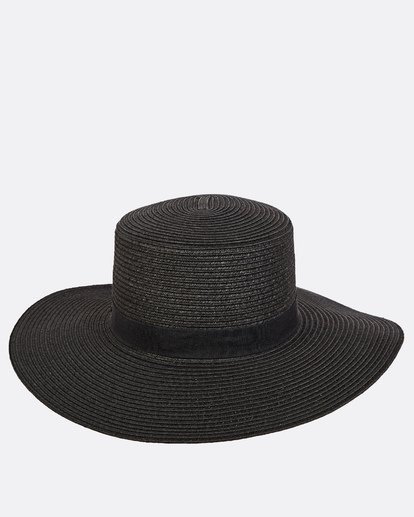 1 Aboat Time Straw Hat Black JAHWQBAB Billabong