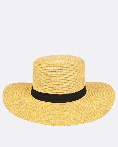 2 Aboat Time Straw Hat Beige JAHWQBAB Billabong