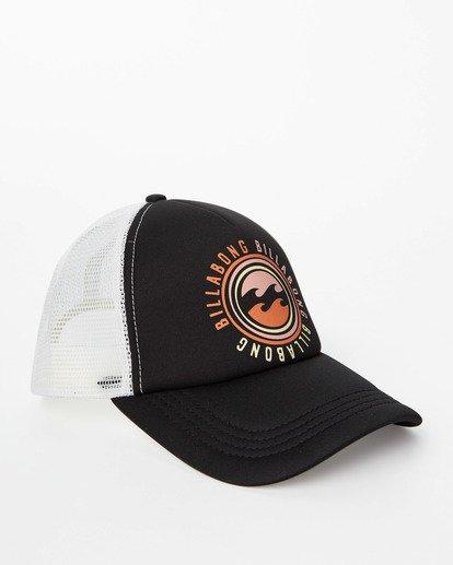 2 Across Waves Trucker Hat Black JAHWQBAC Billabong