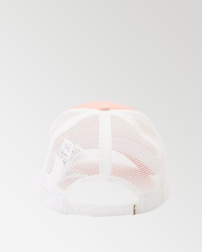 1 Across Waves Trucker Hat Pink JAHWQBAC Billabong