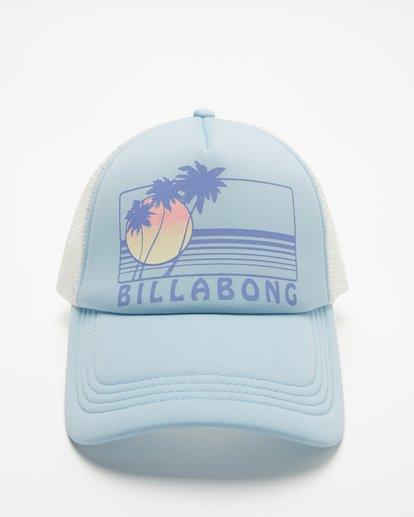 1 Across Waves Trucker Hat Brown JAHWQBAC Billabong