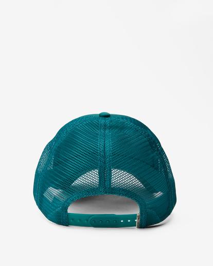 1 Across Waves Trucker Hat Green JAHWQBAC Billabong