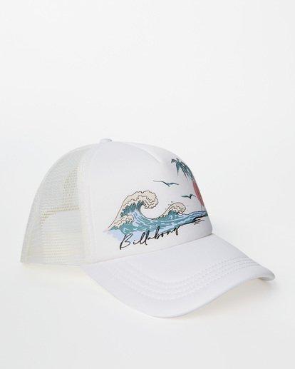 2 Across Waves Trucker Hat Green JAHWQBAC Billabong