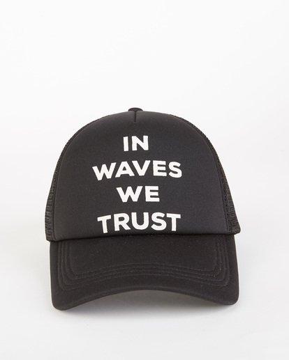 1 Across Waves Trucker Hat Orange JAHWQBAC Billabong