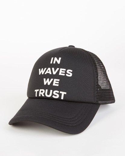 0 Across Waves Trucker Hat Orange JAHWQBAC Billabong