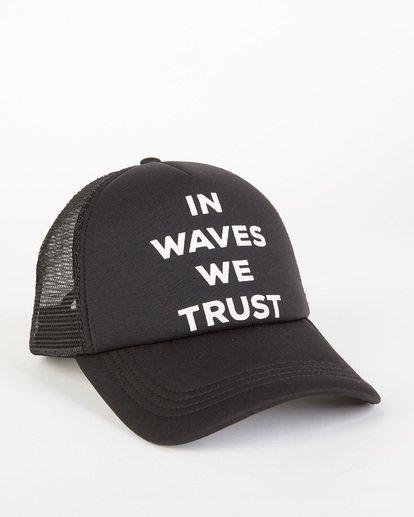2 Across Waves Trucker Hat Orange JAHWQBAC Billabong