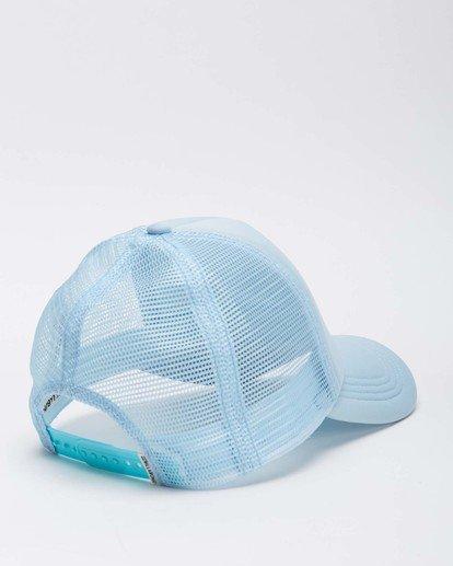 3 Across Waves Trucker Hat Blue JAHWQBAC Billabong